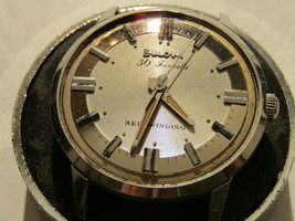 VINTAGE 1965 BULOVA 30 JEWEL AUTOMATIC WATCH FOR RESTORATION OR PARTS - $125.00