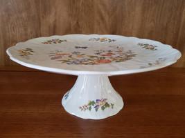 "Aynsley ""Cottage Garden"" Butterfly Pedestal Cake Plate - $24.95"