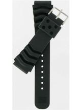 Seiko   Black PVC/Rubber Watch Band 4FY8JZ  - $38.61