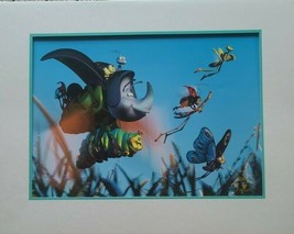 "Walt Disney's 1999 ""A Bug's Life"" ~ 11"" x 14"" Matted Lithograph ~ 8"" x 1... - $34.65"