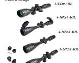T 3 9x40 aol hunting scopes 4 16x50 rifle sights optic tactical 6 24x50 long range thumb155 crop