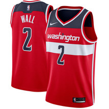 Washington Wizards 2 John Wall New Men's Basketball Jersey Red - $28.50