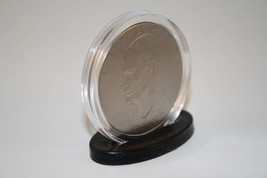 100 Single Coin DISPLAY STANDS for Silver Eagle/Morgan/Peace/IKE Dollar ... - £27.36 GBP