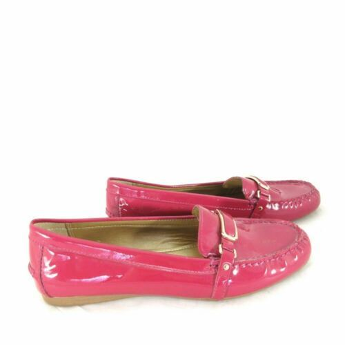 10 - COACH Womens FLYNN Classic Patnet Leather Driving Loafer Flats Shoes 0929CM
