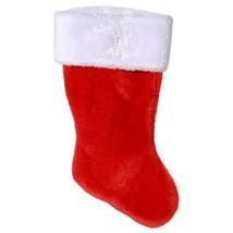 Darice® Classic Plush Red Christmas Stocking - 8.5 x 18 inches w - $7.99