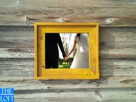 """The Post & Beam Antique Washed Yellow 3.5""""-(Antique Solid Oak) -(All Sizes) -The - $24.00"""