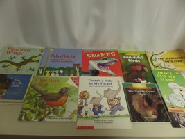 """LOT OF  11 CHILDRENS BOOKS PB """"THE ALLIGATORS TOOTHACHE,DONT CUT MY HAIR... - $23.20"""