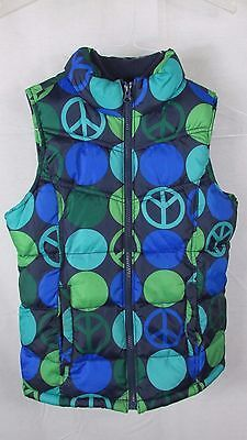407443ce9d437 Girls Old Navy blue green dots peace signs and 27 similar items. 1
