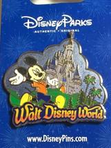 Walt Disney World Pin Mickey & Cinderella's Castle Pin NWT - $9.99
