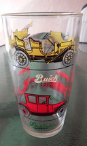 Vintage Anchor Hocking 1900's Classic Cars Huge Clear Cocktail Drinking ... - $5.70