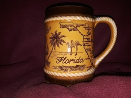 Vintage State of Florida Coffee Cup Must See - $19.80