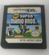 New Super Mario Bros. (Nintendo DS, 2006) READ Not Tested * Free Ship* G... - $12.70