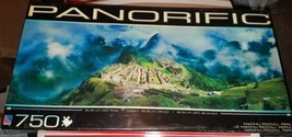 Panorific Machu Picchu, Peru 750 pc. Jigsaw Puzzle NEW in Box - $29.65