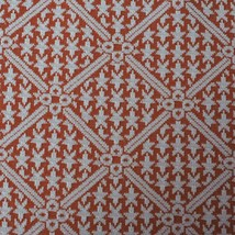 """Vintage 1970's 1960's Orange Brown Stretch Polyester Fabric 60""""x120"""" - $49.49"""