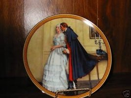 The Unexpected Proposal, Norman Rockwell Plate, 1986 - $16.83