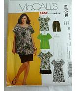 McCalls MP300 Mu Mu style Dress Top Pants size 8 10 12 14 16 Uncut - $7.91