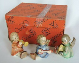 Goebel Angel Trio Joyous News West Germany 1967 Accordion Musician Nativ... - $121.50