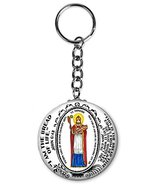 "Saint Honore Patron of Healing Culinary Arts 2.25"" Button Keychain - $6.00"