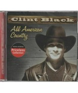 CLINT BLACK  All American Country - $5.50
