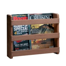 Whitecap Teak Magazine/Utility Rack - $67.61