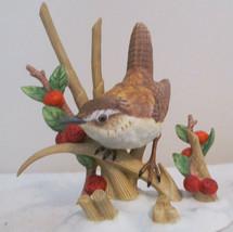 Lenox Garden Bird Series Porcelain Figurine MARSH WREN - $23.72