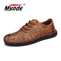 Shoes Mynde Quality Men Split Men Loafers Leather Summercomfortable Casual Shoes wYxYr4aq
