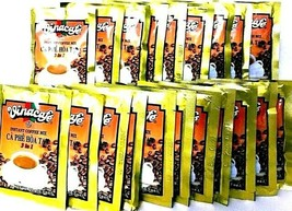 Vinacafe 3-In-1 Instant Vietnamese Coffee Mix 100 Sachets x 20 g - $24.74
