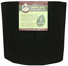 Gro Pro Premium Round Fabric Pot 7 Gallon, Black - $13.48