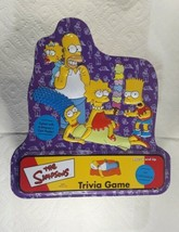 Collectible Tin from The Simpsons Trivia Game  Tin Only  2000 - $4.98