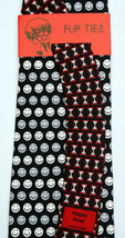 Happy Hour Men's Necktie Silk Smiley Face Bartender Vicky Davis Flip Nec... - $19.75