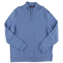 $60 Club Room Blue Granada Mens 1/4 Zip Pullover Sweater Size XL - €33,92 EUR