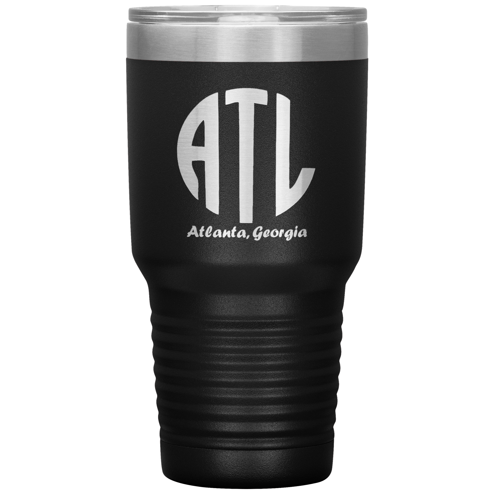 Primary image for ATL Monogram Double Wall Vacuum Insulated Stainless Steel Tumbler 30 OZ with Lid