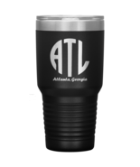 ATL Monogram Double Wall Vacuum Insulated Stainless Steel Tumbler 30 OZ ... - $34.99+