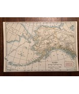 """Vintage Color ALASKA Print Plate 5.5"""" x 8.5"""" Unframed - $14.00"""