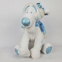 "Disney Store Snowflake Tigger 14"" Plush White Tiger Winnie the Pooh Stuf... - $26.60"