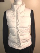 Quilted Puffer Vest Gap Womens Small EUC - $14.84
