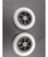 """Pair of Jazzy Front Wheels and Tires 6"""" Diameter - $39.97"""