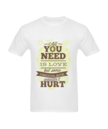 Funny Text All You Need is Love but Some Chocolate Wouldn't Hurt T-Shirts - $23.50