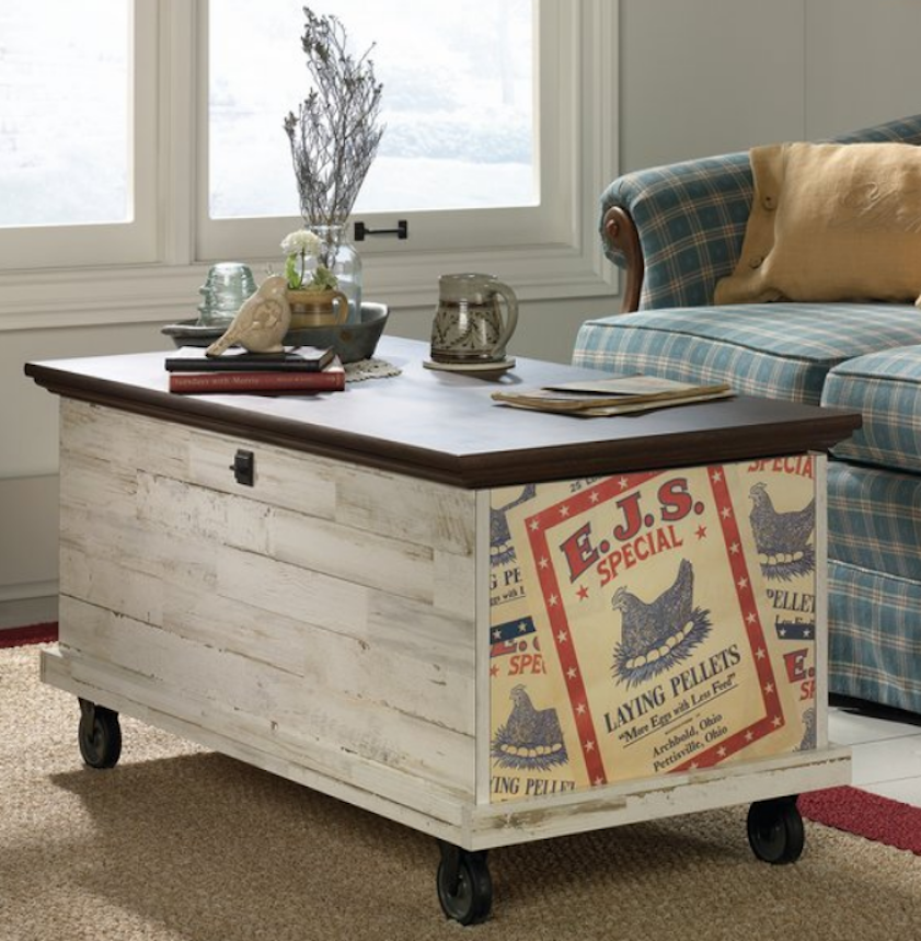 Mudroom Storage Trunk Wheels Farmhouse Decor And 50 Similar Items