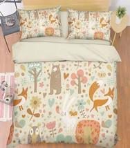 3D Animals 195 Bed Pillowcases Quilt Duvet Cover Set Single Queen King Size AU - $64.32+