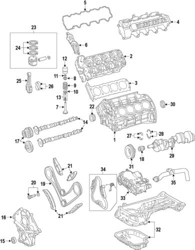 Genuine Mercedes-Benz Camshaft Gear 156-050-36-47