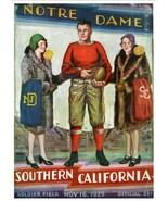 1929 NOTRE DAME vs USC 8X10 PHOTO FIGHTING IRISH PICTURE NCAA FOOTBALL - $3.95