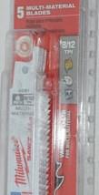 Milwaukee 48004091 Sawzall Blade 5 Pack Multi Material Blades image 2