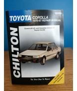 Chilton  68300 1970-87 TOYOTA COROLLA 1970-1987 Repair Manual - $13.85