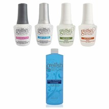Gelish Fantastic Four Gel Polish Essentials Kit + Gelish Nail Surface Cl... - $51.47