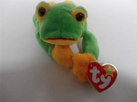 TY Beanie Baby Smoochy The Frog 1997 with Mint Tags - $8.61