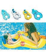 Inflatable Mother Baby Ring Double Person Swim Circle Safety Swimming Wh... - $11.99+