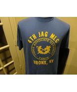 Vtg 80's Hanes 50-50 4th JAG MLC Bronx Ny Military Advocate General T-sh... - $39.55