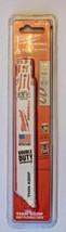 "Milwaukee 48-00-5184 6"" x 18 TPI Thin Kerf Super Sawzall Blades 5 Pack USA - $7.33"