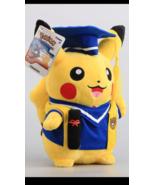"NEW Doctor Graduation Pikachu Pokemon Pocket Monster 10"" Plush Toys Doll... - $39.99"